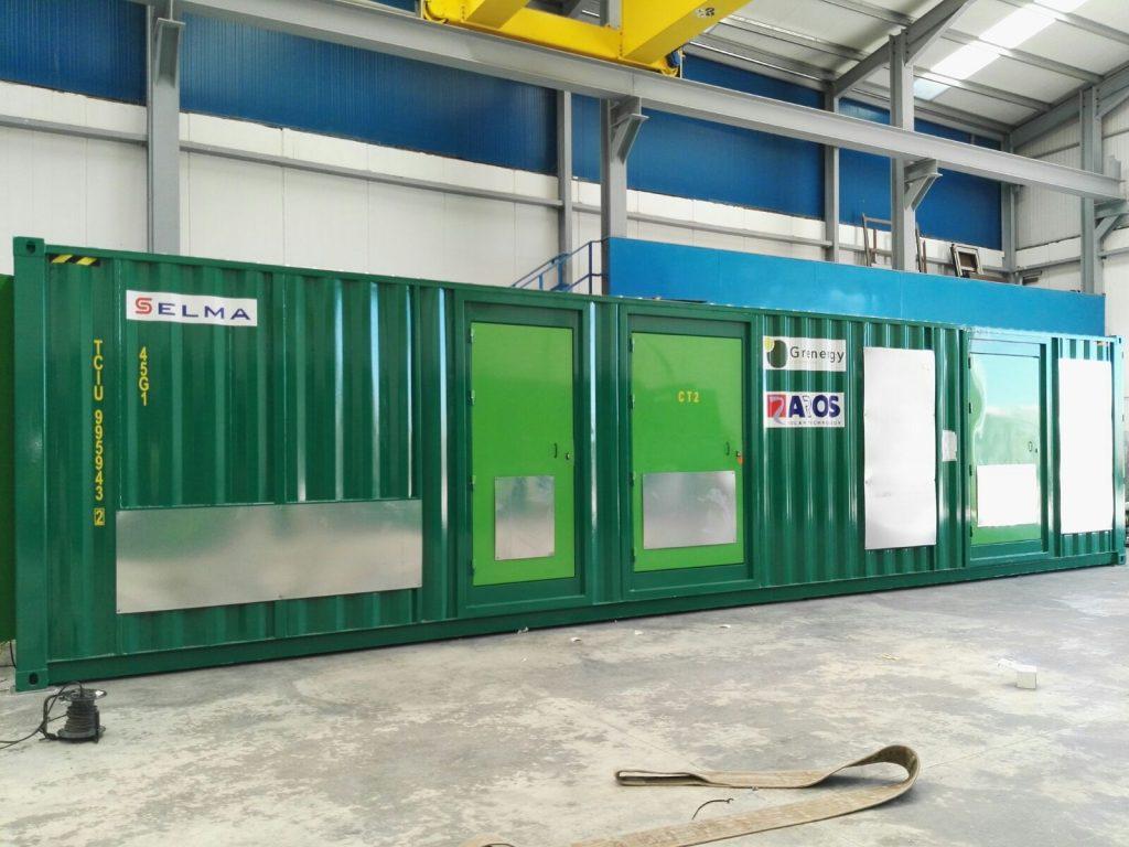 Selma entrega Transformer Station para Chile