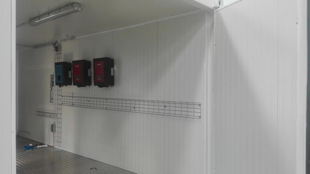 2 Contenedores para test de baterías